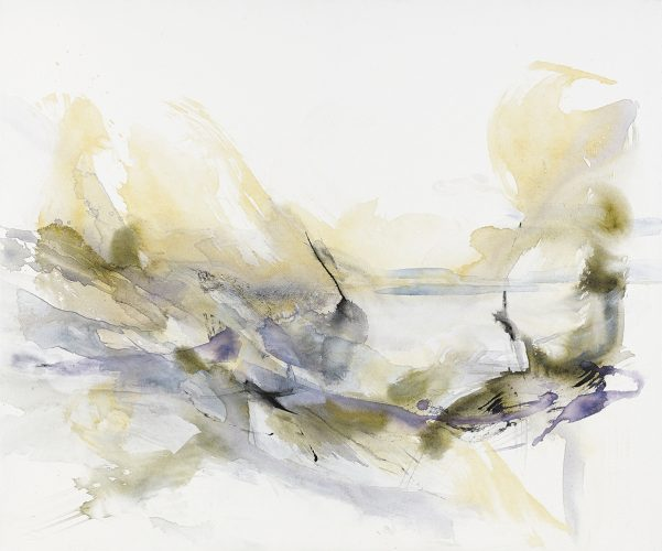 Dorith teichman, new light, acrylic on canvas,100x120cm, 2019RGB
