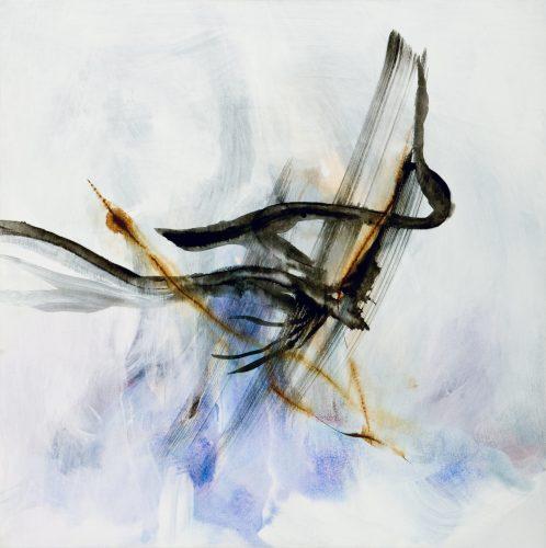 ladder, 92x92, acrylic on canvas 2010